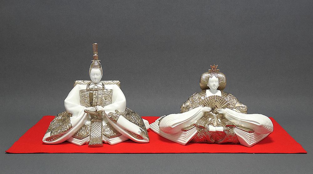 ポーセリン雛 プラチナ platina porcelain